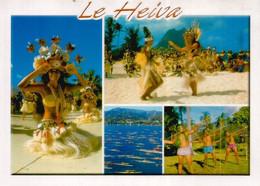 Festivité De Heiva (chants Et Danses Tahitiennes). Carte Postale Pirae,adressée Andorra,avec Timbre à Date Arrivée - Tahiti