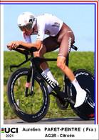 Aurelien  Paret-Peintre  .Cyclisme 2021 - 1 Cards Aux Choix Format Carte Postal  (3) - Unclassified
