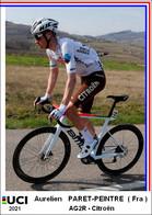 Aurelien  Paret-Peintre  .Cyclisme 2021 - 1 Cards Aux Choix Format Carte Postal  (2) - Unclassified