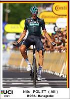 Nils  Politt  .Cyclisme 2021 - 1 Cards Aux Choix Format Carte Postal  (2) - Unclassified