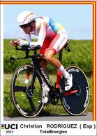 Christian Rodriguez  .Cyclisme 2021 - 1 Cards Aux Choix Format Carte Postal  (2) - Unclassified