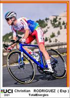 Christian Rodriguez  .Cyclisme 2021 - 1 Cards Aux Choix Format Carte Postal  (1) - Unclassified