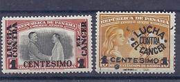 210039920  PANAMA.  YVERT   AEREO  Nº   106/7  **/MNH - Panama