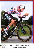 Ide   Schelling  .Cyclisme 2021 - 1 Cards Aux Choix Format Carte Postal  (2) - Unclassified