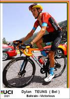 Dylan   Teuns  .Cyclisme 2021 - 1 Cards Aux Choix Format Carte Postal  (1) - Unclassified