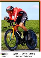 Dylan   Teuns  .Cyclisme 2021 - 1 Cards Aux Choix Format Carte Postal  (2) - Unclassified