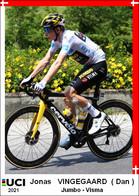 Jonas   Vingegaard   .Cyclisme 2021 - 1 Cards Aux Choix Format Carte Postal  (1) - Unclassified