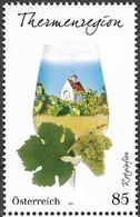 2021 Austria Österreich  Mi.3588**MNH  Weinregionen Österreichs  Thermenregion - 2011-... Ungebraucht