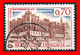 FRANCIA – TIMBRES. AÑO 1967 - St.GERMAIN EN LAYE CHÁTEAU - Usati