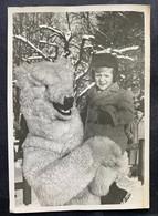 Kind Mit Bär-Maskottchen/ Photo Kipfer Biel - BE Berne