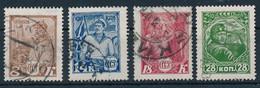 SOWJETUNION / RUSSLAND  -  1928  -  Michel  354-357 - Gebruikt
