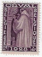 NEW 263 2F + 40 C Violet - Unused Stamps