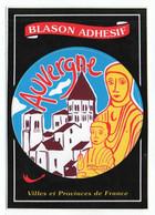 CP Adhesif 163, Blason Adhésif Edition Debaisieux, Auvergne - Altri