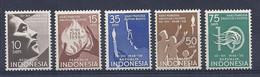 210039982  INDONESIA.  YVERT   Nº   172/182  */MH - Indonesien