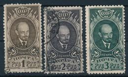 SOWJETUNION / RUSSLAND  -  1926  -  Lenin  -  Michel  308/09 AX , 358C - Gebruikt