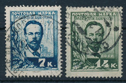 SOWJETUNION / RUSSLAND  -  1925  -  Michel  300/01 - Gebruikt