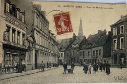 ARMENTTIERS—Place Du Marche Aux Toiles - Armentieres