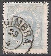 Portugal N°54  Effigie De Louis 1er, Bleu-gris, Dentelé 13 1/2 - Used Stamps