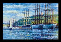 Aland 2021 Mih. 510 (Bl.21) Tall Ships Races MNH ** - Aland