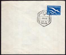 Argentina - 1957 - Carta - FDC - Matasello Especial - Correo Aereo - A1RR2 - Gebruikt