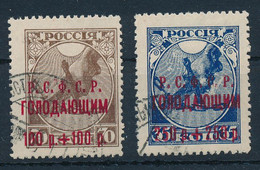 RUSSLAND / SOWJETUNION  -  1922   -  Hungerhilfe  -  Michel  169b/170b - Gebruikt