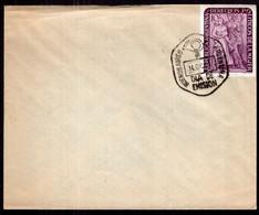 Argentina - 1951 - Matasello Primer Dia - FDC - Derechos Politicos De La Mujer - A1RR2 - Gebruikt
