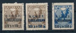 RUSSLAND / SOWJETUNION  -  1922   -  Hungerhilfe  -  Michel  169a/170a - Gebruikt
