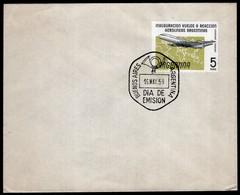 Argentina - 1959 - Matasello Primer Dia - FDC - Inauguración Vuelos A Reaccion Aerolineas Argentinas - A1RR2 - Gebruikt