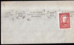 Argentina - 1959 - Carta - XXI Congreso Internacional De Ciencias Fisiologicas - A1RR2 - Gebruikt