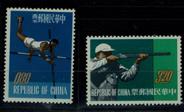 TAIWAN 1962 SPORT MI No 476-7 MNH VF!! - Neufs