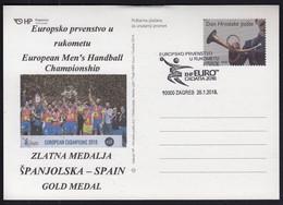 Croatia 2018 / European Men's Handball Champinship / EHF EURO CROATIA 2018 / Gold Medal Spain - Balonmano