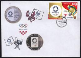 Croatia 2021 / Olympic Games Tokyo 2020 / Medals, Logo, Mascot, Coins - Summer 2020: Tokyo