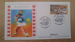 N°2102 - FDC 100 Ans De Tournois De Tennis, à Monaco - FDC