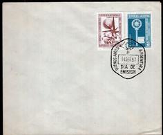 Argentina - 1957 - FDC - Matasello Especial - Congreso Internacional De Turismo - A1RR2 - Gebruikt