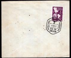 Argentina - 1957 - FDC - Matasello Especial - Conferencia Economica Interamericana - A1RR2 - Gebruikt