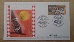 N°2110 - FDC 100 Ans Du Tournois De Tennis De Monaco - Vainqueur RIOS - FDC