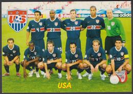 FOOTBALL-USA/NATIONAL TEAM-OLD RUSSIAN CARD - Soccer