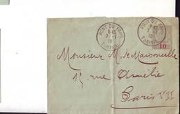 57 C  Entier Postal De Tunisie - Briefe U. Dokumente