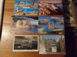 12 Cartoline  GRECIA  DIVERSE - Grecia