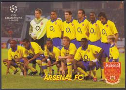 FOOTBALL-ARSENAL FC-OLD RUSSIAN CARD - Soccer