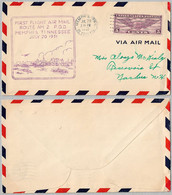 USA Cover - U.S. Air Mail First Flight - 114 - 1a. 1918-1940 Used