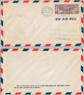 USA Cover - U.S. Air Mail First Flight - 115 - 1a. 1918-1940 Used