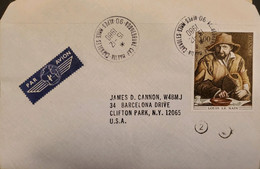 J) 1980 FRANCE, LOUIS THE DWARF, CIRCULATED COVER, FROM FRANCE TO USA - Zonder Classificatie