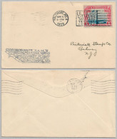 USA Cover - U.S. Air Mail First Flight - 122 - 1a. 1918-1940 Used