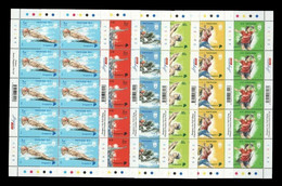 Singapore 2021 Mih. 2732/37 Olympic Games In Tokyo (10 M/S) MNH ** - Singapour (1959-...)