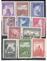 Serbia German Occupation Complete Series Mint - Serbia