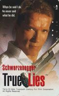 TC JAPON / 110-011 - CINEMA - ARNOLD SCHWARZENEGGER - TRUE LIES 1 - MOVIE JAPAN Phonecard - S 17391 - Cinema