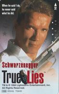 TC JAPON / 110-011 - CINEMA - ARNOLD SCHWARZENEGGER - TRUE LIES 2 - MOVIE JAPAN Phonecard - S 17392 - Cinema