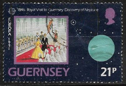 Guernsey SG520 1991 Europa 21p Good/fine Used [39/31883A/25D] - Guernesey