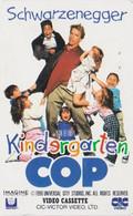 TC JAPON / 110-011 - CINEMA - ARNOLD SCHWARZENEGGER - KINDERGARTEN COP - MOVIE JAPAN Phonecard - S 17397 - Cinema